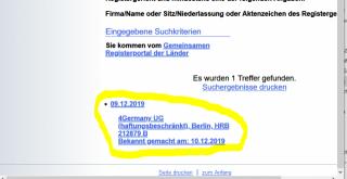 Recherche/Handelsregister-abfragen/Screenshots