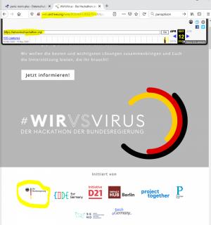 Recherche/wirvsvirushackathon